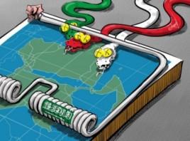 إيران هي الشر المطلق
