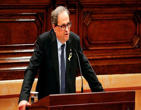 بعد تمدده في إسبانيا.. زعيم إقليم كتالونيا مصاب بكورونا