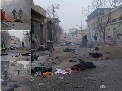حلب تشهد مجزرة دامية.. قوات بشار تتكالب على المدينة وقصف جنوني عشوائي