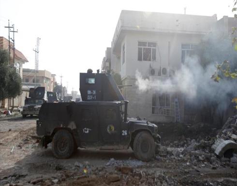الجيش يقتحم حيا جديدا بالموصل ويوقف عملياته بالأنبار