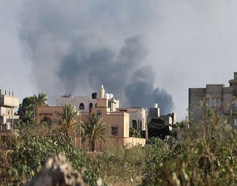 """تجدد الاشتباكات بين """"الوطني الليبي"""" وقوات """"الوفاق"""" في طرابلس"""