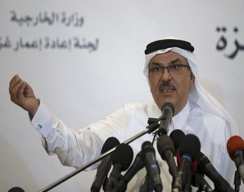 العمادي يؤكد وجود وساطة قطرية بين إسرائيل وحماس حول غزة