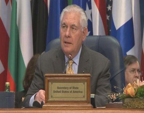 """تيلرسون: تنظيم الدولة """"يتحول"""" لحركة تمرد في ليبيا وأفغانستان"""