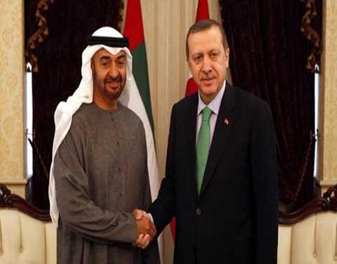 محمد بن زايد يبحث هاتفيا مع الرئيس التركي العلاقات الثنائية