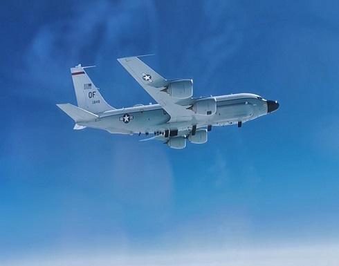 شاهد : مقاتلة روسية تعترض طائرة تجسس أمريكية فوق المحيط الهادئ