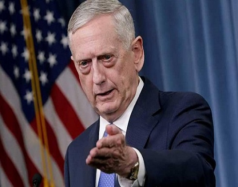 """وزير الدفاع الأميركي: """"الطاغية"""" يجب أن يرحل"""