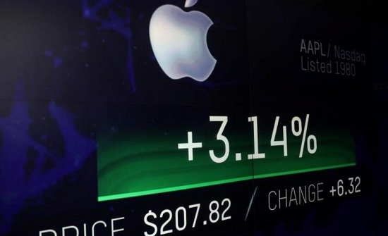 لأول مرة .. القيمة السوقية لأبل تصل إلى تريليون دولار
