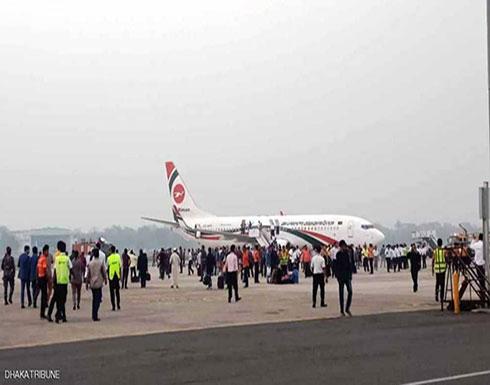 محاولة خطف طائرة متجهة إلى دبي.. وإجلاء ركابها بسلام
