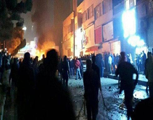 فيديو : احتجاجات إيران تتواصل ليلا واشتباكات عنيفة مع الأمن