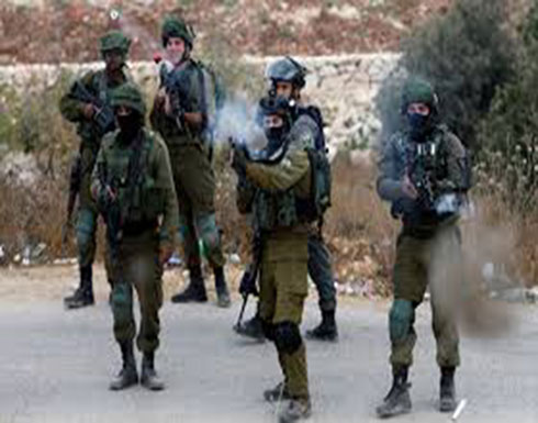 اصابتان برصاص الاحتلال جنوب نابلس