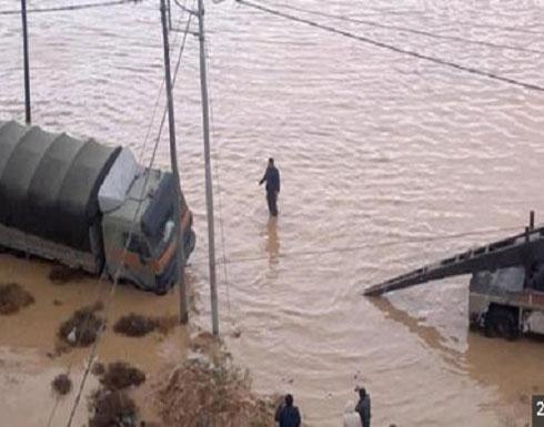 ارتفاع عدد الوفيات السيول الى 11