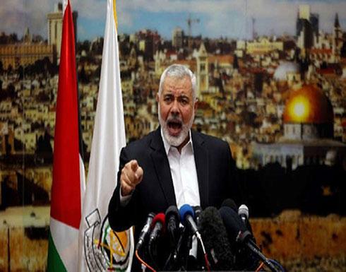 هنية: إسرائيل هي من طلبت التهدئة في العدوان الأخير على غزة