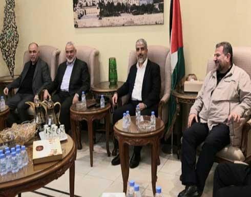 """أبو مرزوق: وفد من """"حماس"""" برئاسة هنية سيزور القاهرة بشأن جهود إعمار غزة"""