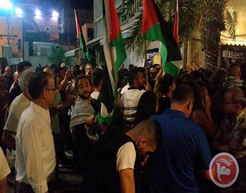 مظاهرة في حيفا نصرة لغزة