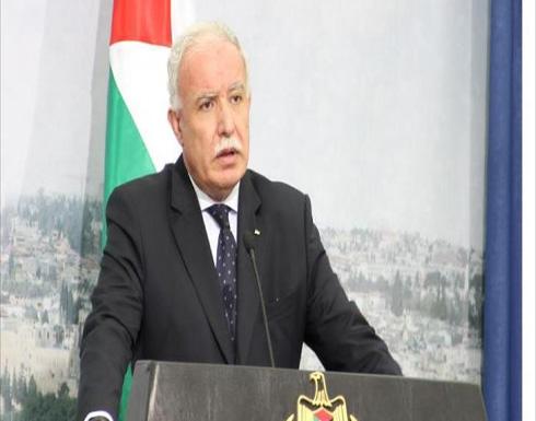 فلسطين : لا نطلب أكثر مما نص عليه ميثاق الأمم المتحدة ولن نقبل بأقل من ذلك