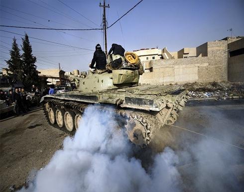 القوات العراقية توسع سيطرتها جنوب الساحل الأيسر للموصل