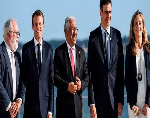 خط كهرباء يربط إسبانيا وفرنسا والبرتغال