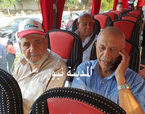 صورة : وزير إسرائيلي يصل الاردن في طريقه الى الحج