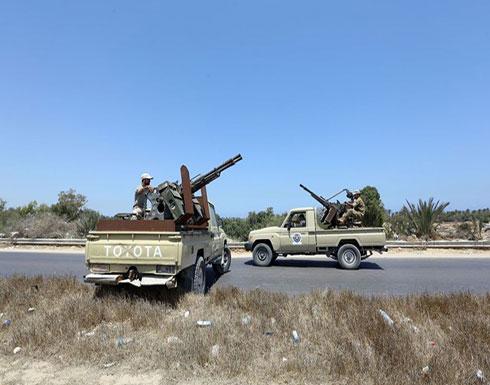 قوات حفتر تقصف بالقذائف مدرستين بالعاصمة طرابلس