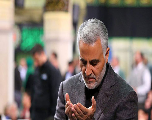 بالصور .. ماذا يفعل قاسم سليماني في جامع أم الطبول في بغداد؟