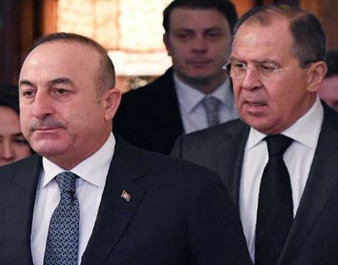 """لافروف وجاويش أوغلو يبحثان تفاصيل إجراء """"مؤتمر الحوار الوطني السوري"""" في سوتشي"""