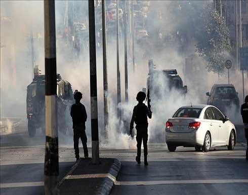الضفة.. اختناقات إثر قمع جيش الاحتلال محتجين ضد الاستيطان