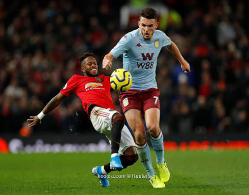 بالصور: مانشستر يونايتد يواصل ترنحه بالتعادل مع أستون فيلا