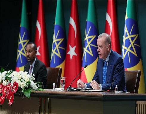 أردوغان: تركيا مستعدة لحل النزاع بين السودان وإثيوبيا