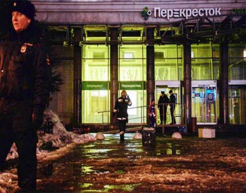بوتين يصف انفجار سان بطرسبورغ بالعمل الإرهابي