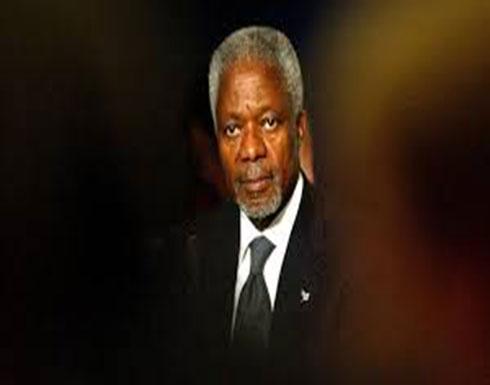 وفاة كوفي عنان الأمين العام السابق للأمم المتحدة عن 80 عاما …
