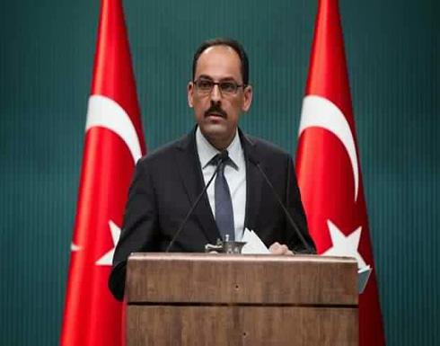 المتحدث باسم إردوغان ينتقد الجيش الأمريكي لدعمه فصيلا كرديا سوريا