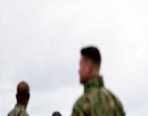 """بالصورة : كيف وصلت مقاتلة روسية فوق رؤوس """"الأعداء""""؟"""