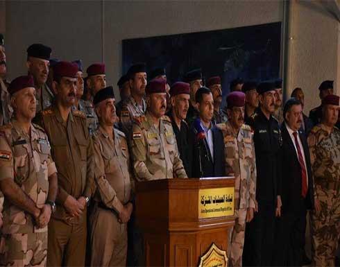 الشمري يعلن نجاح الخطة الأمنية للانتخابات العراقية
