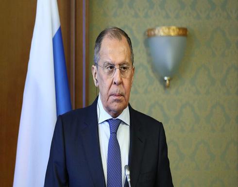 لافروف يدعو لمشاركة الدول النووية الخمس في بحث معاهدة جديدة للحد من الأسلحة