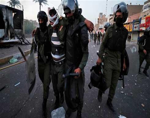 أمريكا تعبر عن غضبها من قمع المتظاهرين في العراق