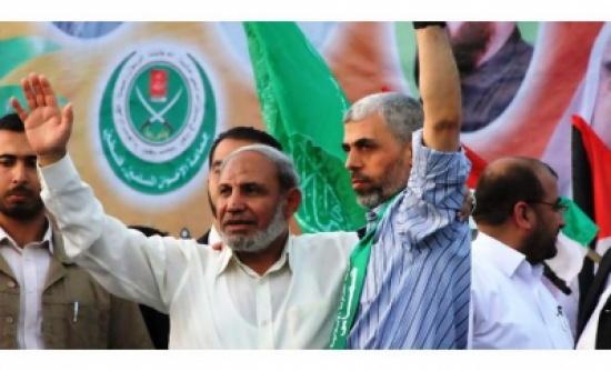 السنوار رئيسا لمكتب حركة حماس السياسي