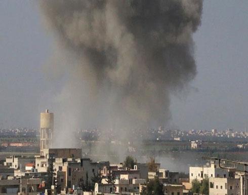 التحالف يقصف موقعين لمجموعات إرهابية شرقي سوريا