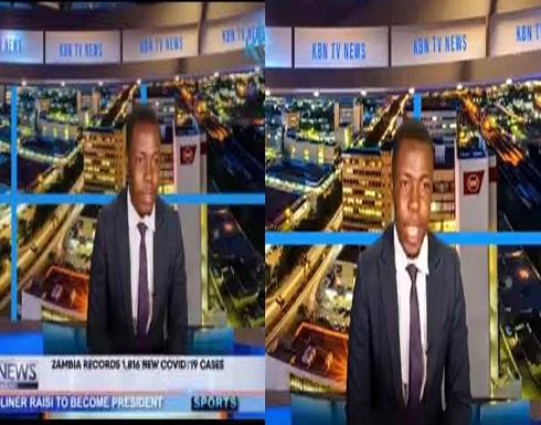 فيديو.. مذيع يشكو عدم تلقيه راتبه أثناء تقديمه نشرة الأخبار