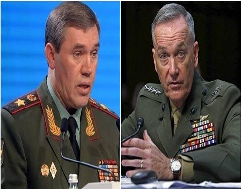 رئيس الأركان الروسي يناقش سوريا مع نظيره الأمريكي