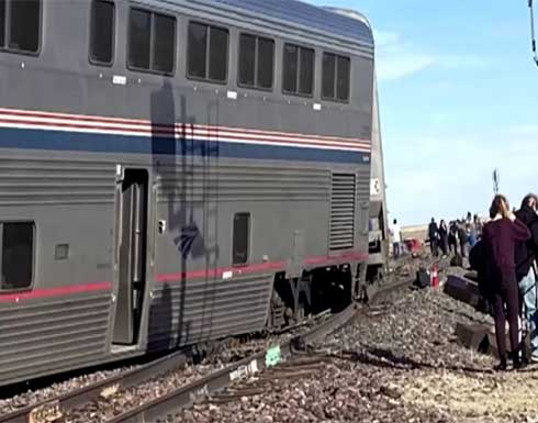 3 قتلى جراء خروج قطار عن سكته في الولايات المتحدة