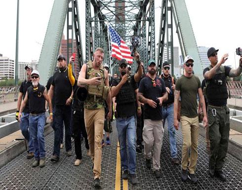 اليمين المتطرف والفاشية.. مسيرة تنتهي باعتقالات في أميركا