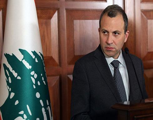 وزير الخارجية اللبناني : نحن مع حق إسرائيل بالوجود وان تعيش بأمان