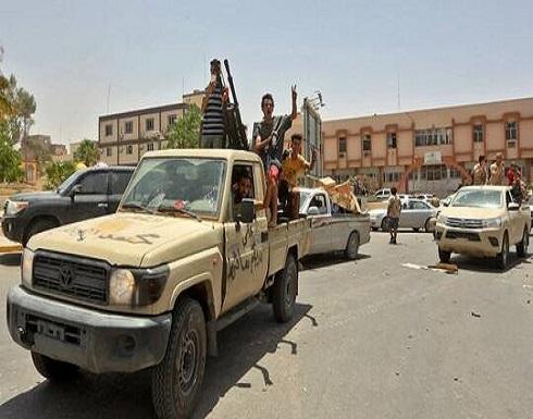 الوفاق الليبية: أعيان مدينة سرت عرضوا تسليمها وسط انسحاب قوات حفتر