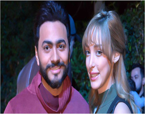 تامر حسني يرزق بمولوده الثالث من بسمة بوسيل.. ويطلقان عليه هذا الاسم!