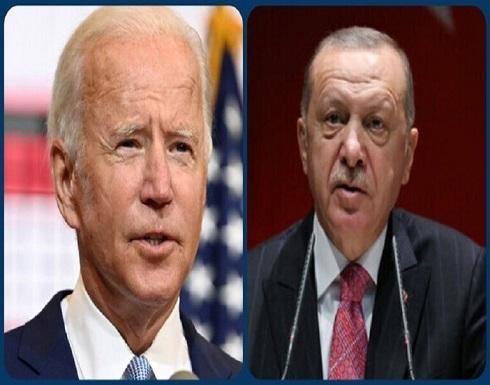أردوغان يهنئ بايدن ويتحدث عن تعاون وتحالف بين تركيا والولايات المتحدة