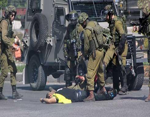 استشهاد فلسطيني برصاص الاحتلال بالخليل
