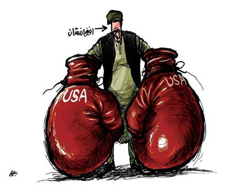 الوجود الامريكي في افغانستان