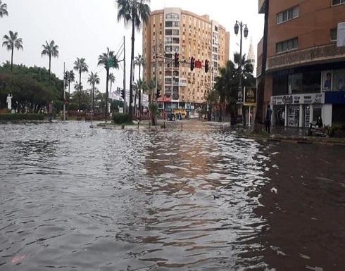 قتلى وجرحى وانهيار عقارات في موجة طقس سيئ بمصر .. بالفيديو