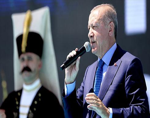 أردوغان: نترقب دخول قواتنا البرية إلى شرق الفرات في وقت قريب