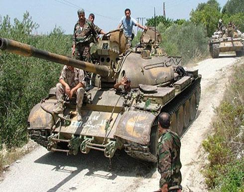 المرصد السوري: قوات النظام تدخل خان شيخون بريف إدلب
